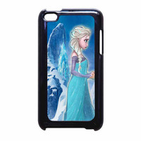 Frozen Elsa Anda Best Friends Sisters Forever A iPod Touch 4th Generation Case