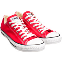 CONVERSE CHUCK TAYLOR LOW IN RED - SNEAKERS - DEPARTMENTS Federal