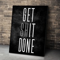 Get It Done Canvas Set