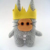 Where the wild things are Max Fur Ooak 12cm by peludossa on Etsy