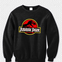 Jurassic Park Sweater Man and Sweater Woman