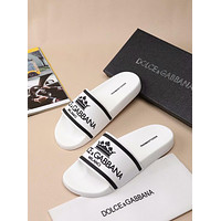 D&G Dolce & Gabbana Men's Leather Sandals