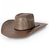 Rodeo King® Hereford 3-Tone Brick Straw Hat