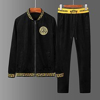 Versace Cardigan Jacket Coat Pants Trousers Two Pieces