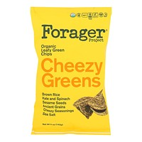 Forager Project - Veg Chips Chzy Greens - Case Of 8-5 Oz