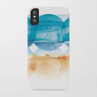 Sand and Surf iPhone Case by noondaydesign