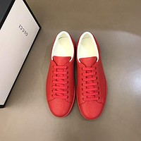 Gucci Men Fashion Boots fashionable Casual leather Breathable Sneakers Running Shoes-862