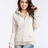 Volcom Lived In Sherpa Womens Hoodie Cream  In Sizes