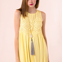 Suite Life Dress in Yellow