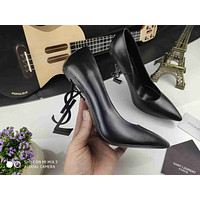 ysl women casual shoes boots fashionable casual leather women heels sandal shoes 40