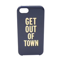 Kate Spade New York Get Out Of Town Phone Case for iPhone® 5 and 5s