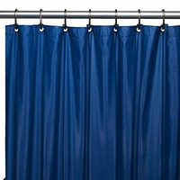 PREMIUM Quality Vinyl Shower Curtain Liner - ROYAL BLUE
