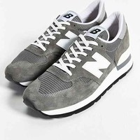 New Balance Made In USA 990 Bring Back Collection Running Sneaker- Grey