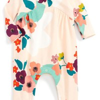 Tea Collection Claire Print Romper (Baby Girls) | Nordstrom