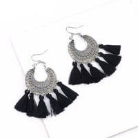 Vintage Hippie Style Boho Tassel Earrings