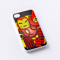 iron man cute iPhone 4/4S, 5/5S, 5C,6,6plus,and Samsung s3,s4,s5,s6