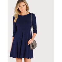Spree Sea Dress - Navy