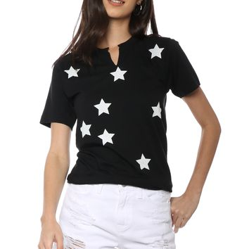 JET x Mixology White Stars All Over Tee