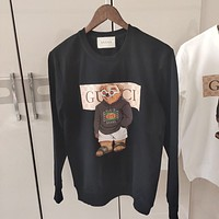 GUCCI Women Men Fashion Top Pullover Top