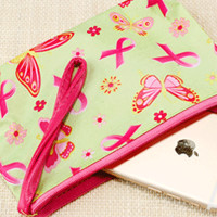 Butterfly & Ribbon Makeup Pouch