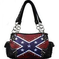 *Vintage Rebel Flag Shoulder Bag