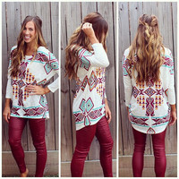 Tribal and Trendy Sweater