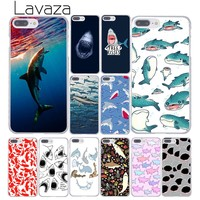 Lavaza ocean Whale Sharks fish Hard Coque Shell Phone Case for Apple iPhone 8 7 6 6S Plus X 10 5 5S SE 5C 4 4S Cover