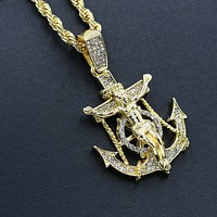 ANCHOR Necklace Hip Hop | HC5475432