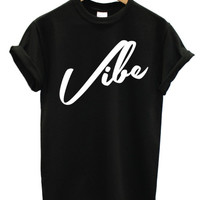 Vibe basic logo t shirt