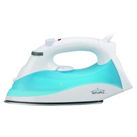 RIVAL Steam Wave Iron, White and Blue, GCRVSW-100-122