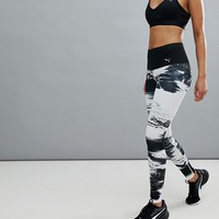 Puma Everyday Train Element Tight In Black And White at asos.com