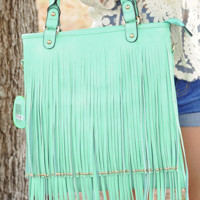 Forever My Love Purse: Mint