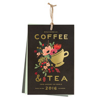 2016 Rifle Paper Co. Coffee & Tea Kitchen Wall Calendar