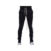 EPTM Men's Track Pants Black White