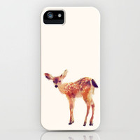 Fawn iPhone Case by Amy Hamilton | Society6