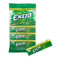 Bulk Wrigley's Extra Spearmint Sugarfree Gum, 4-ct. Packs at DollarTree.com