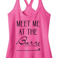 Meet Me At The Barre Tank