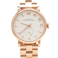 Marc by Marc Jacobs Baker Watch in Rose