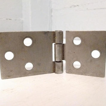 Drop Leaf Table Hinges, Table Hinges, Square Edge, Metal, Furniture Hardware, Table Hardware, Salvage, RhymeswithDaughter