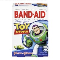 Band-Aid Decorative Adhesive Bandages, Disney Pixar's Toy Story, Assorted, 20 Count (Pack of 4)