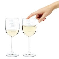 MUSICAL WINE GLASSES - SET OF 2   Wine Glasses, Music Glasses, Multi-functional Glass, Melody, Song, Chords, Play Glasses   UncommonGoods