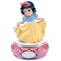 ''Once Upon a Time'' Musical Snow White Figurine by Precious Moments | Disney Store