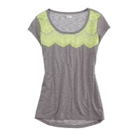 Aerie Lace Yoke T   Aerie for American Eagle