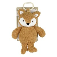 Kelly Baby 10-Inch Plush Fox with Rattle