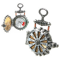 EER Patent Solar Powered Turbine Fob Watch         - New Age & Spiritual Gifts at Pyramid Collection