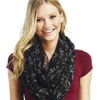 Simba™ Outline Infinity Scarf | Wet Seal