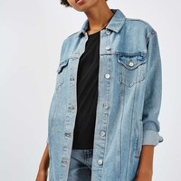 MOTO Oversized Long Line Jacket