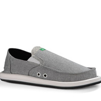 Sanuk Pick Pocket TX Grey Chambray Sidewalk Surfers
