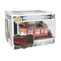 Funko Harry Potter Pop! Rides Hogwarts Express Carriage With Ron Weasley Vinyl Vehicle
