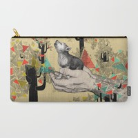 Found You There Carry-All Pouch by Sandra Dieckmann